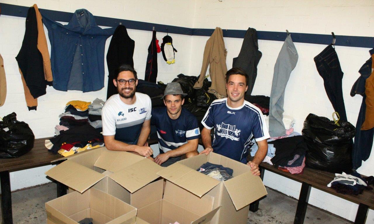 OGs Family gives generously for 2016 Annual Clothing Drive