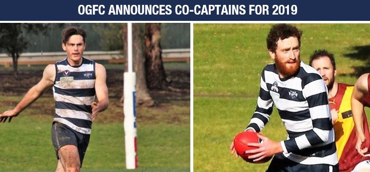 OGFC ANNOUNCES CO-CAPTAINS FOR 2019