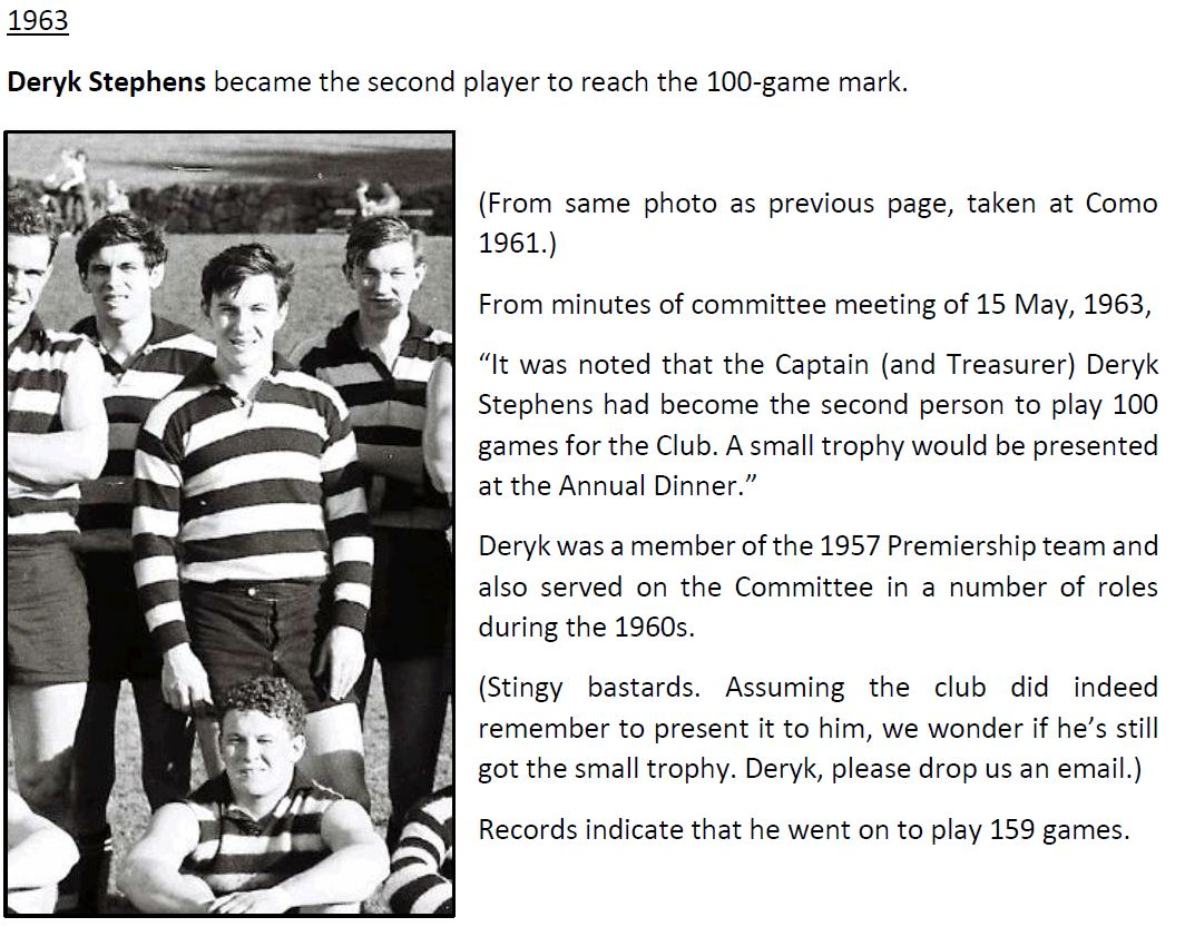 OGFC GAMES MILESTONES - WEBPAGE UPDATED
