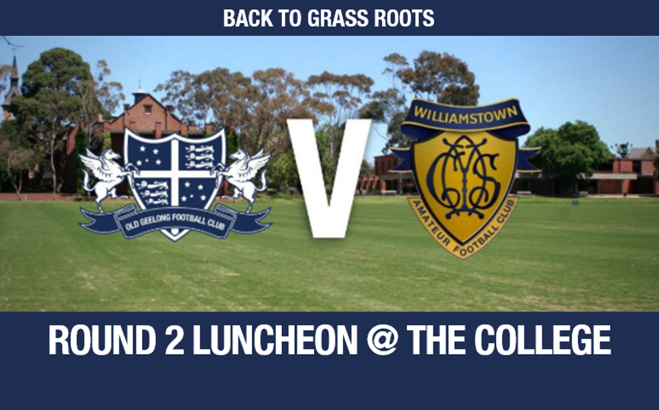 Back to Grass Roots Luncheon - April 22nd