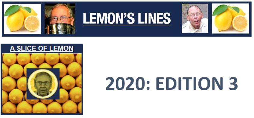 LEMON'S LINES - Edition 3