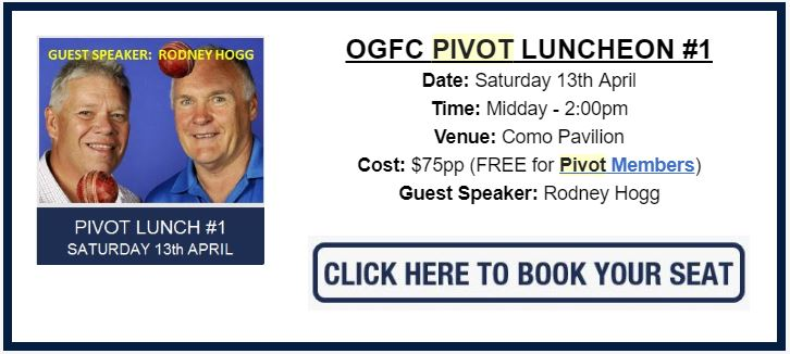 PIVOT LUNCHEON #1 - APRIL 13th (OGFC vs OLD SCOTCH)