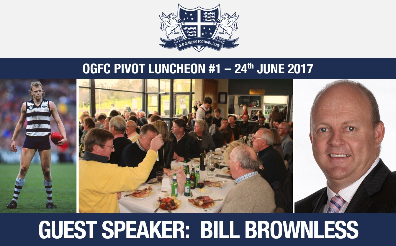 OGFC Pivot Luncheon #1: Sat 24th June