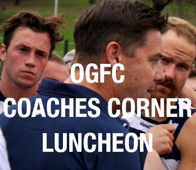 Coaches Corner Luncheon - Fri 16th March